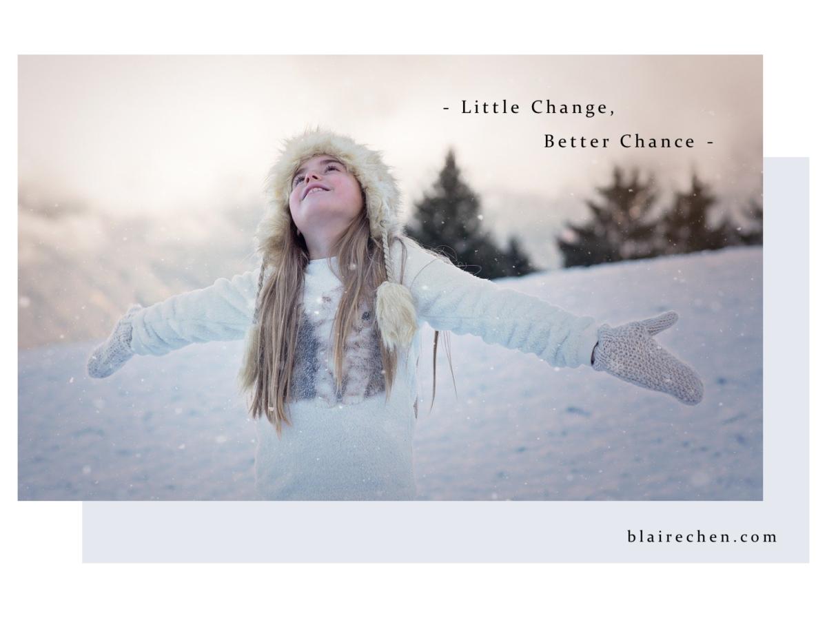新的一年如何改變自己?從小地方著手、來點勇氣,就能喚醒對生活的怦然心動!