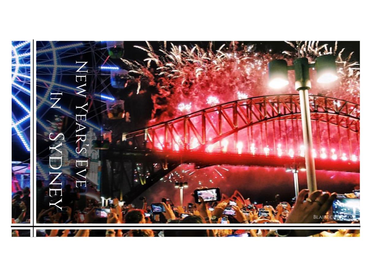 【澳洲雪梨-全球第一個跨年城市】| 迎接全球第一場煙火,雪梨最推薦的跨年玩法,行前攻略懶人包