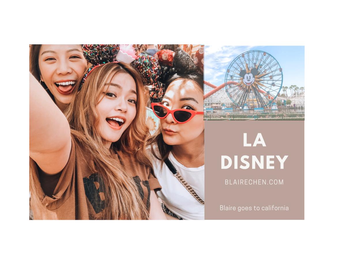 加州|全世界最快樂的地方『Disney』! 跟著我一起玩遍美國加州迪士尼,不帶腦的超強懶人包!