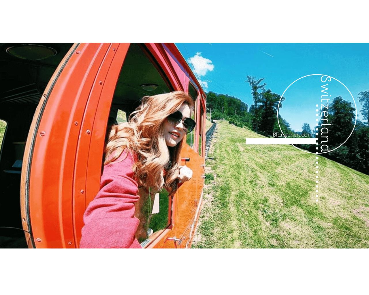 【瑞士就該這樣玩!】|體驗全世界最陡齒軌火車、最長溜滑梯,琉森 LUZERN、皮拉圖斯山PILATUS