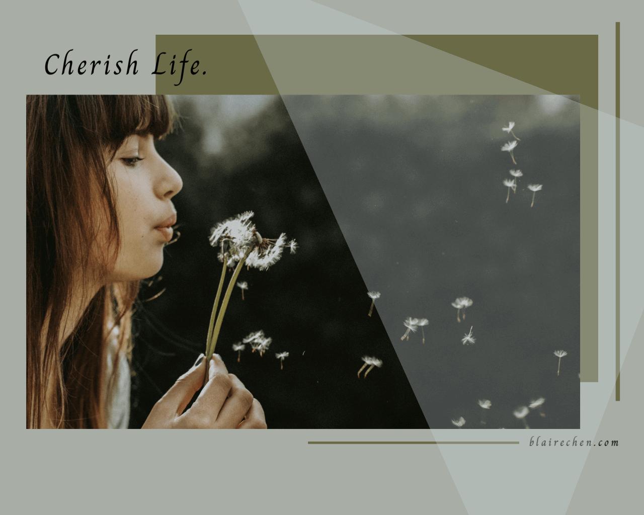 人生對你而言是長是短呢?趁這個世界慢下來,細細品味、好好思考生命的每個層次!