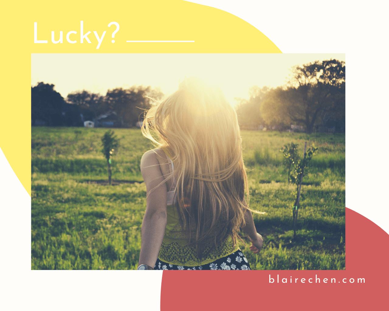 所謂幸運到底是什麼?保有自我、真心相待,5 個幸福感滿滿的狀態!