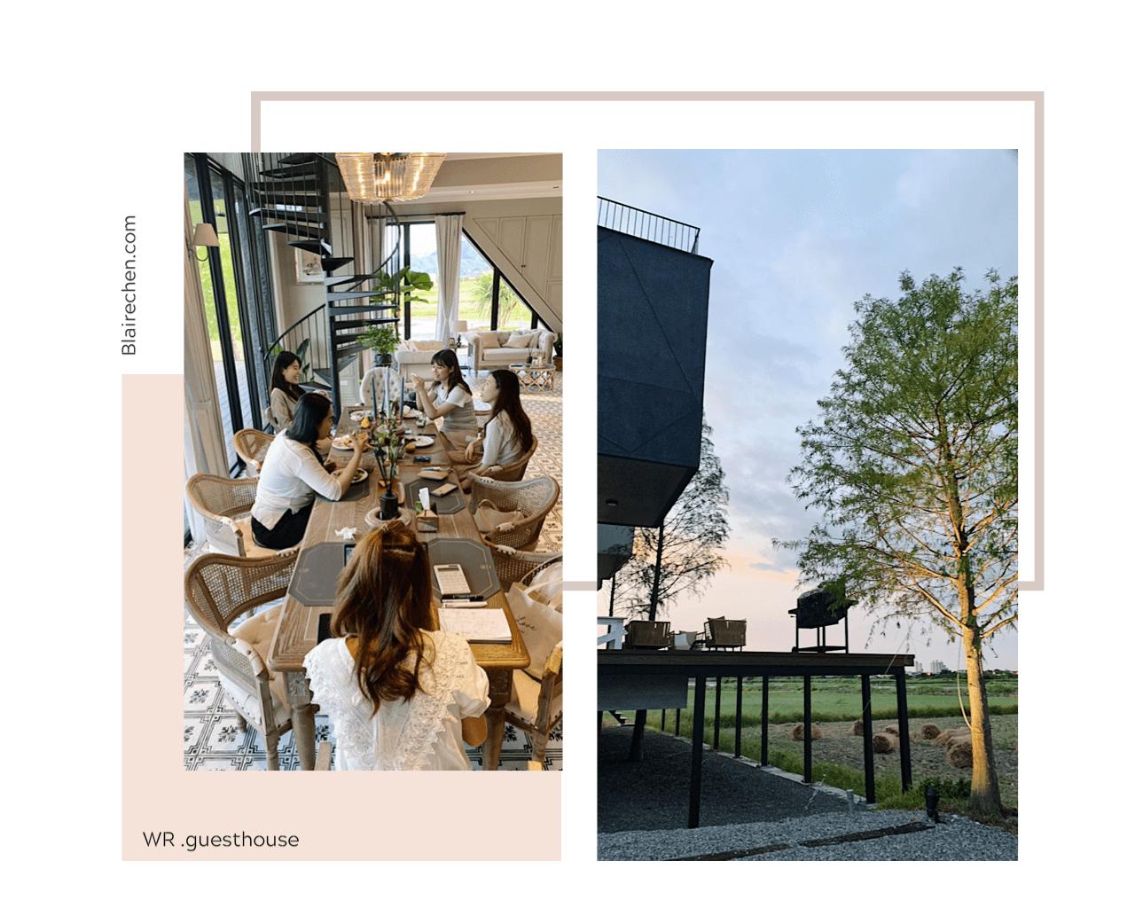 【宜蘭 WR 光旅暖稻】|超美宜蘭民宿推薦!輕旅行首選,巴洛克式建築空間,度假放鬆又幸福。