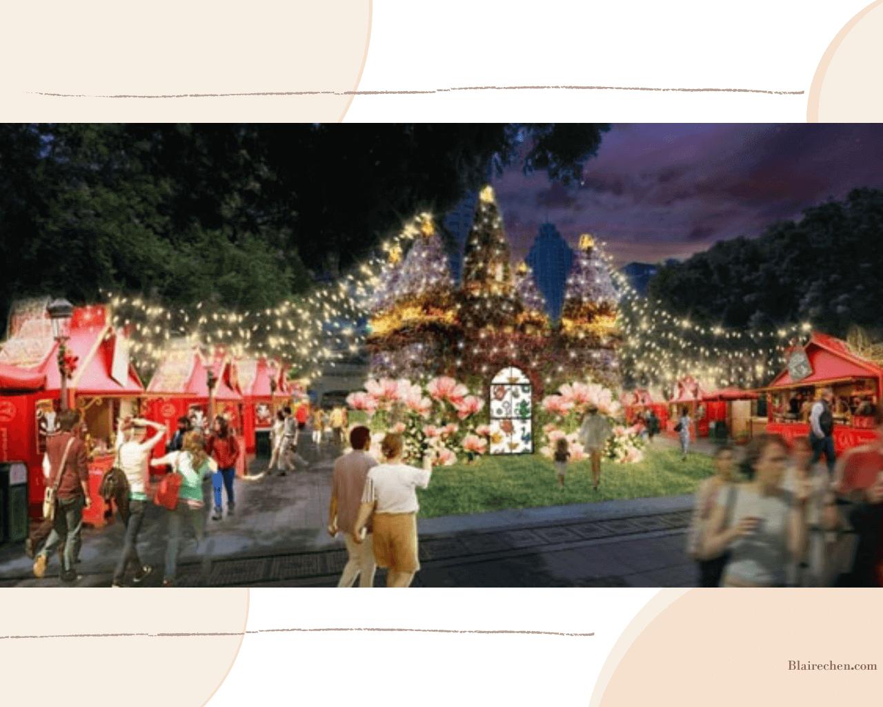 【新北歡樂耶誕城】|迪士尼控必衝!!歡慶10週年、六大夢幻裝置、四大主題燈區、耶誕絕美光廊、破千樣周邊,打卡攻略總整理!