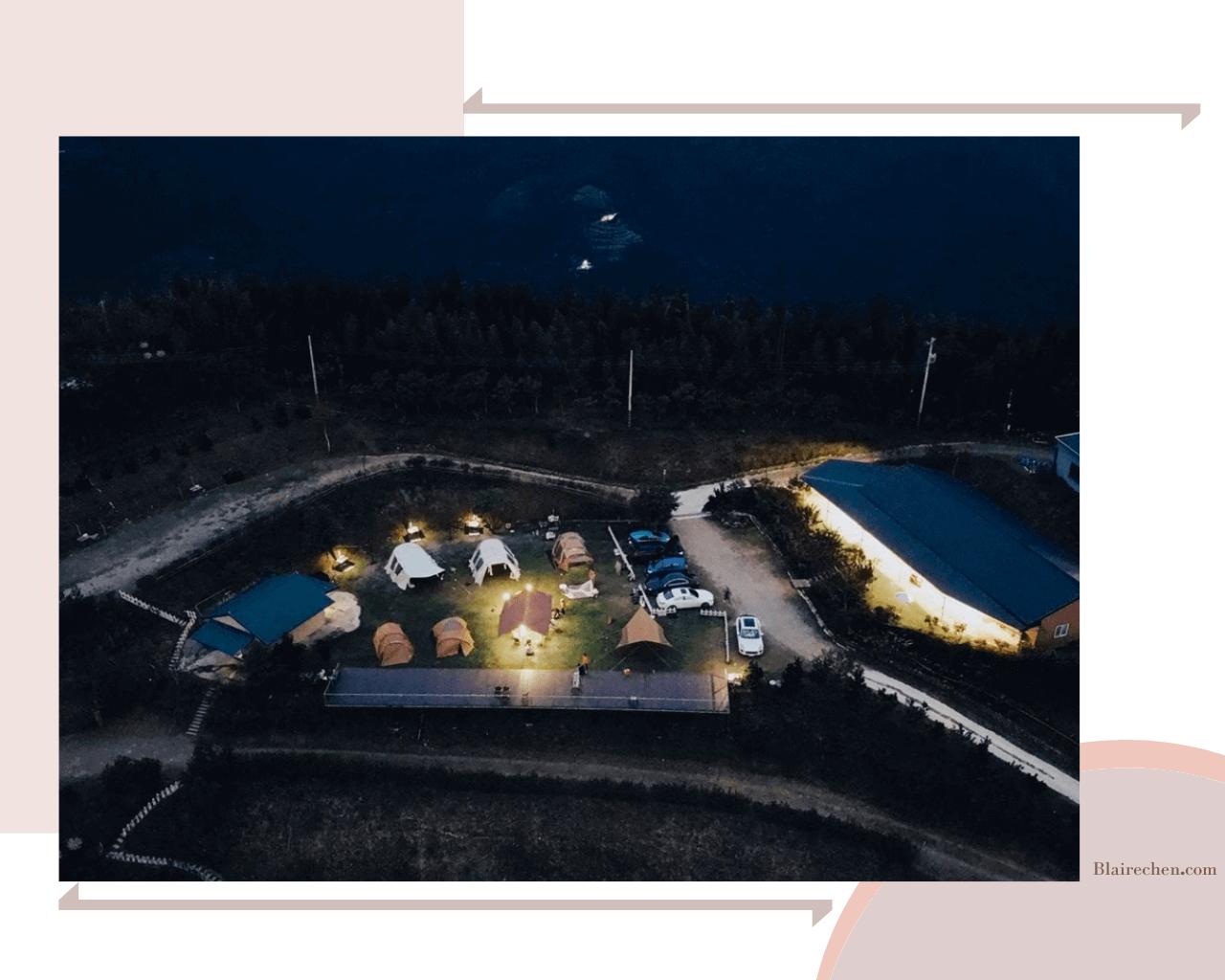 【台灣露營區推薦】|新竹梅山頂景觀露營區,一次擁有雲海及百萬夜景!露營最棒的選擇!